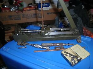 Vintage Schmitt 12 Ammunition Reloading Press complete