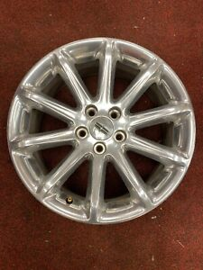 18 Lincoln Mkx Factory Polished Used Wheel Rim 3852
