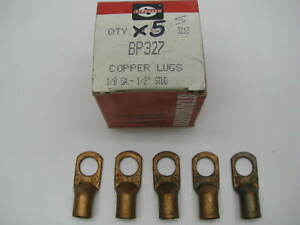 X5 Copper Battery Cable Lugs 1 0 Gauge 1 2 Stud