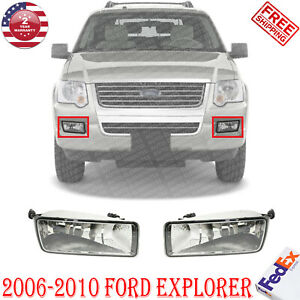 New Front Fog Light Assembly For 2006 2010 Ford Explorer Left