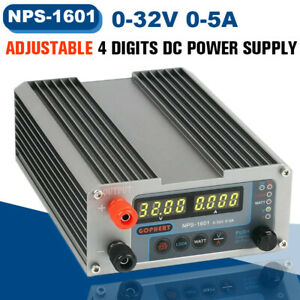 Gophert Nps 1601 32v 5a Adjustable Digital Dc Power Supply Cps 3205ii Upgraded