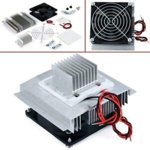 Tec1 12706 Thermoelectric Module Peltier Water Cooler Cooling System Diy Kit