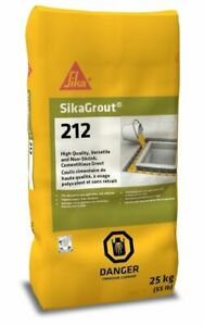 Sika Sikagrout 212 Non shrink Grout 50 Lb Bag 90824