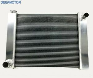 Ford Mopar Aluminum Welded 19 X 26 X 3 Universal Racing Radiator Crossflow