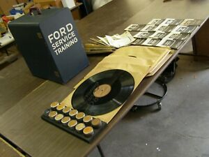 Nice Original Ford Dealers Announcement Kit 1949 1950 1951 Advertising Education