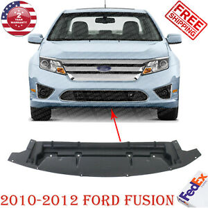 Front Bumper Lower Valance Air Deflector Textured For 2010 2012 Ford Fusion