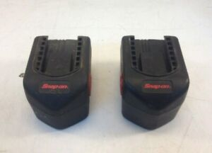 Lot Of 2x Snap On Ctb4147 14 4v Bad Batteries For Rebuild