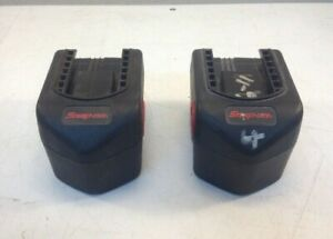 Lot Of 2x Snap On Ctb4145 14 4v Bad Batteries For Rebuild
