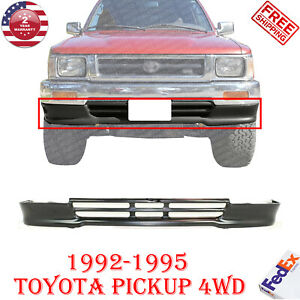 Front Lower Valance Painted Steel Black For 1992 1995 Toyota Pickup 4wd