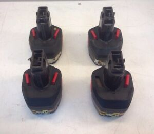 Lot Of 4x Snap On 12v Nicd Batteries Ctb3124
