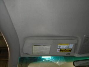 Driver Sun Visor Sr5 Primary Extended Cab 4 Door Fits 05 06 Tundra 1425553