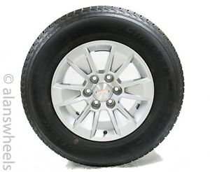 New Takeoff Chevy Silverado Avalanche 17 Factory Oem Wheels Rims General Tires