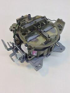 Reman Edelbrock 1901 Quadrajet Carburetor 750 Cfm Chevy Gm 350 454