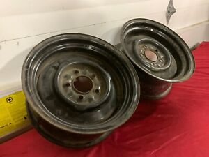 Nos Dodge Plymouth 14x6 Steel Wheels Fury Monaco Polara