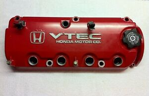 Honda Accord Ex Acura Cl 2 3 F23a1 Vtec Engine Valve Cover Painted Red