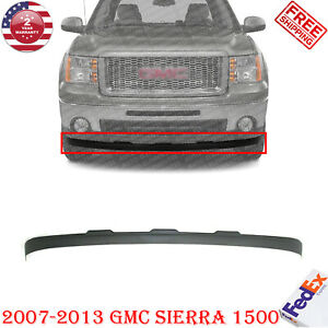 Front Lower Valance Deflector Extension Textured For 2007 2013 Gmc Sierra 1500