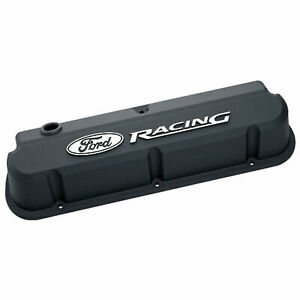 Ford Racing 302 135 Satin Black Slant Edge Valve Covers