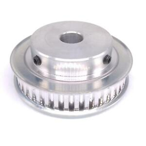 1pc Xl 40t Timing Belt Pulley Synchronous Wheel 12mm Bore For 10mm Width Belt
