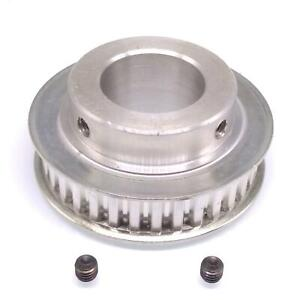 1pc Xl 35t Timing Belt Pulley Synchronous Wheel 25mm Bore For 10mm Width Belt
