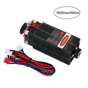 Focusable Analog 5 5w 450nm Blue Laser Module For Cnc Engraving Engraver Cutter
