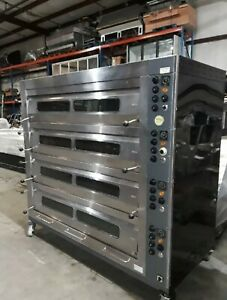 Bakers Aid Ultra 4 Artisan Deck Oven With Steam warranty 220v