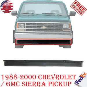 Front Bumper Lower Valance Air Deflector For 1988 2000 Gmc Sierra Chevy Pickup