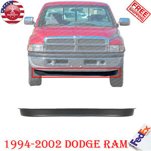 Front Lower Valance Textured For 1994 2002 Dodge Ram 1500 2500 3500