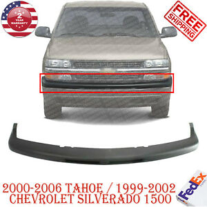 Front Bumper Upper Cover For 2000 2006 Tahoe 1999 2002 Chevy Silverado 1500
