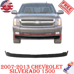Bumper Lower Cover Valance Extension Txt For 2007 2013 Chevrolet Silverado 1500