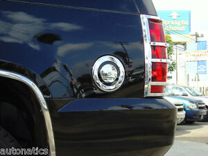 2007 2014 Chevrolet Tahoe Stainless Steel Chrome Gas Cover
