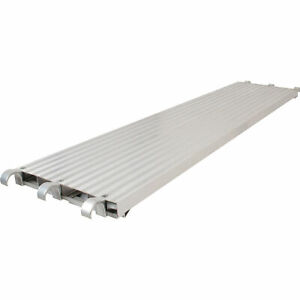 Metaltech Saferstack 10ft X 19in All aluminum Platform Model M mpa1019