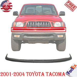 Front Bumper Filler Upper Cover Primed For 2001 2004 Toyota Tacoma 52119ad010