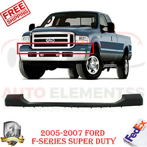 Front Bumper Cover Primed Without Absorber For 05 2007 Ford F series Super Duty