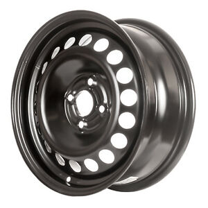 New 15x6 Black Steel Wheel For 2005 2010 Chevrolet Cobalt 560 08077