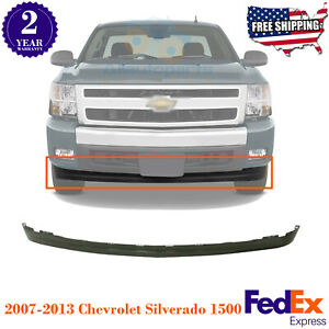 Front Lower Valance Extension Textured For 2007 2013 Chevrolet Silverado 1500