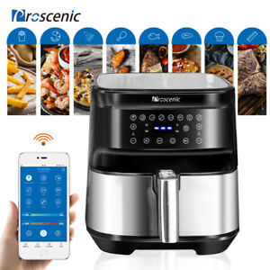 1700w Air Fryer 5 8qt Oilless Electric Oven Led App Temp timer 8 Cooking Preset