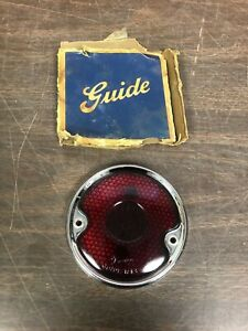 1942 59 Chevy Truck Glass Guide Tail Light Lens Bezel Nos 1019
