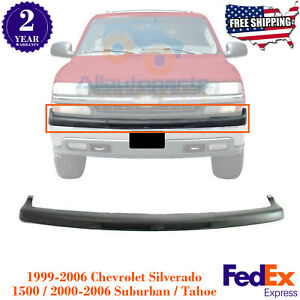 Front Bumper Upper Cover Filler For 00 06 Tahoe 1999 2002 Chevy Silverado 1500