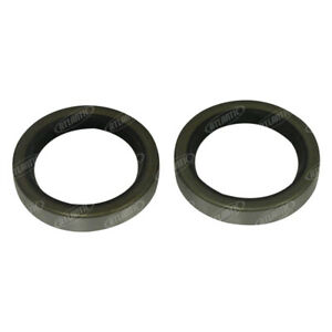 2 Rear Axle Inner Seals 8n4233a Fits Ford 8n Naa 600 601 801 800 2000 4000 4cy