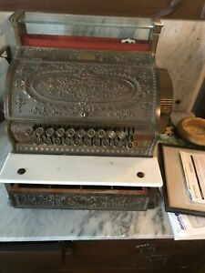 Antique National Cash Register Model 442