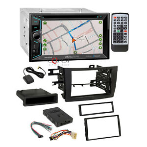 Soundstream Dvd Bt Gps Stereo Dash Kit Jbl Harness For 2009 11 Toyota Corolla