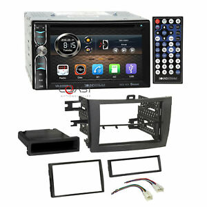 Soundstream Dvd Phonelink Stereo Grey Dash Kit Harness For 09 13 Toyota Corolla