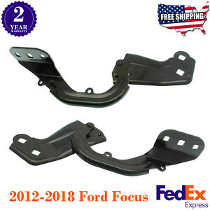 Hood Hinge Set For 2013 2016 Ford Escape Mkc 2012 2018 Ford Focus Lh Rh Pair
