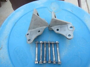 63 64 65 66 Mustang Falcon Comet Orig 260 289 V8 Motor Mount Brackets And Bolts