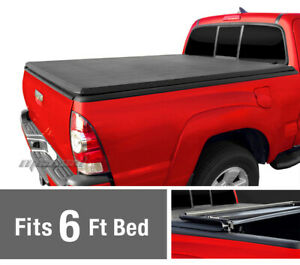 Tri Fold Tonneau Cover For 1982 2013 Ford Ranger 94 11 Mazda Pickup 6ft Bed