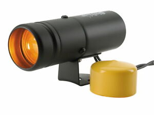 Auto Meter 5334 Black Shift Lite W Amber Light Yellow Lens Cover
