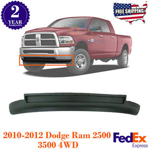 Front Bumper Lower Valance Air Dam Textured For 10 2012 Dodge Ram 2500 3500 4wd