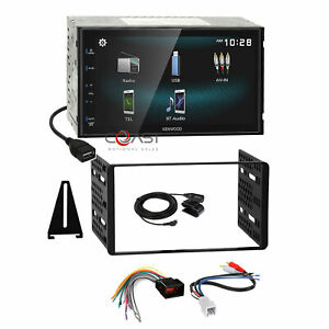 Kenwood Smartphone Android Stereo Dash Kit Amp Harness For Ford Lincoln Mercury