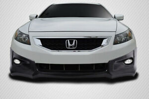 Carbon Creations Hfp V2 Look Front Lip For 08 10 Honda Accord 2dr