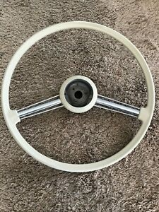 Excellent Porsche 356a T5 A Steering Wheel Light Beige Coupe Cabriolet